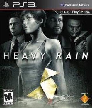 Heavy Rain - DSi cover