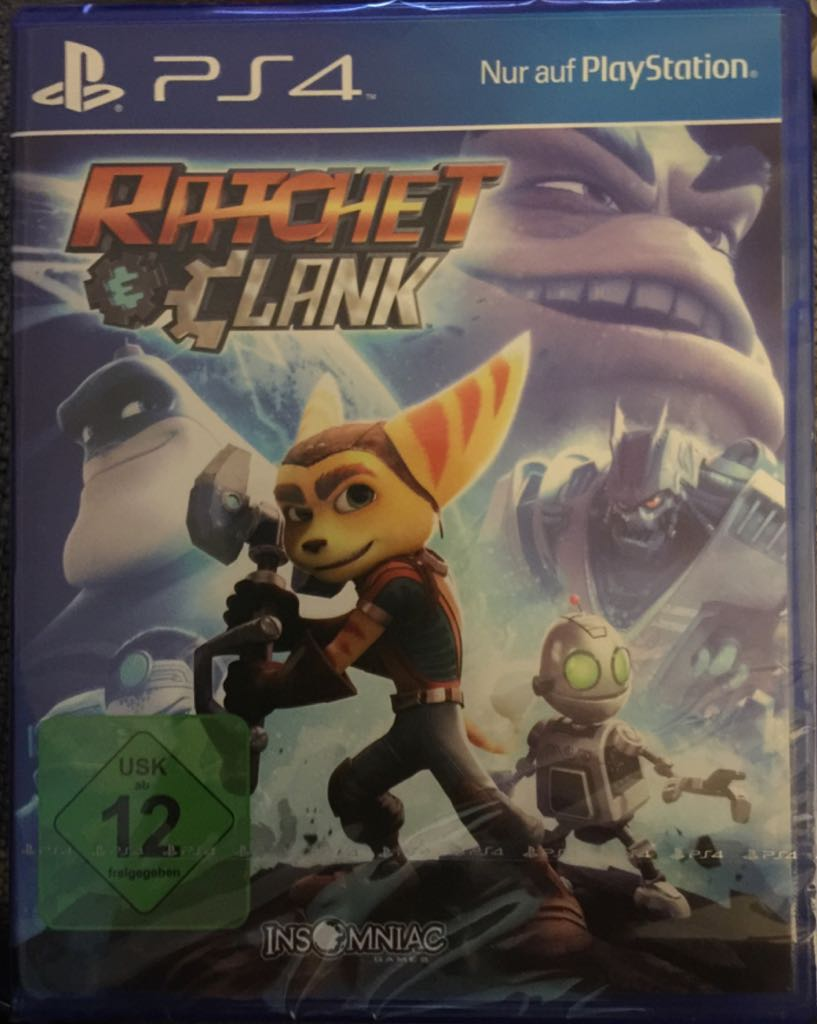 Ratchet & Clank - PS4 cover