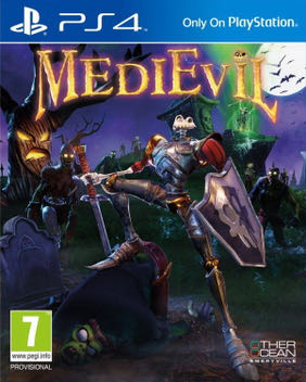 MediEvil - PS4 cover