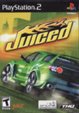 Juiced - PS2 cover