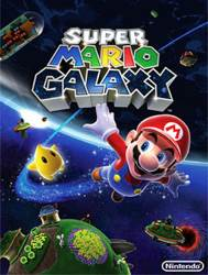 Super Mario Galaxy - Apple iPhone/iPod Touch cover