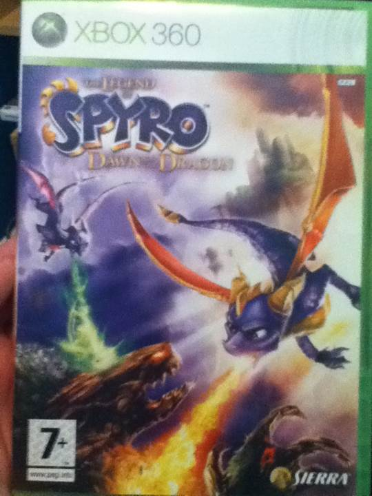 The Legend of Spyro: Dawn of the Dragon - Xbox 360 cover