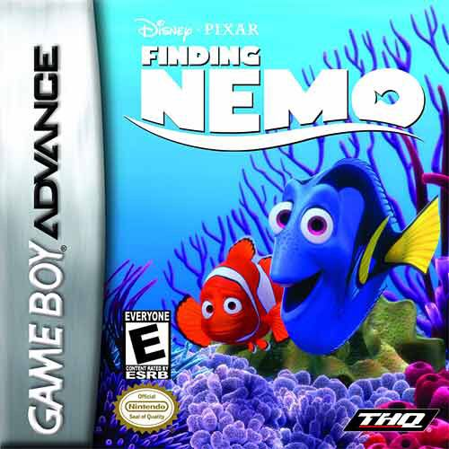 Finding Nemo - Game Boy Advance cover