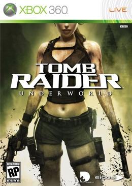 Tomb Raider: Underworld - Xbox 360 cover