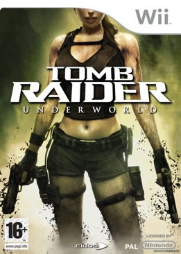 Tomb Raider: Underworld - Wii cover