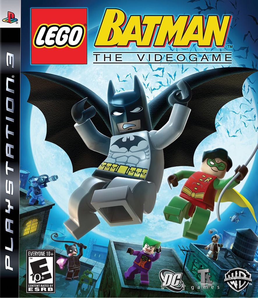 LEGO Batman - PS3 cover