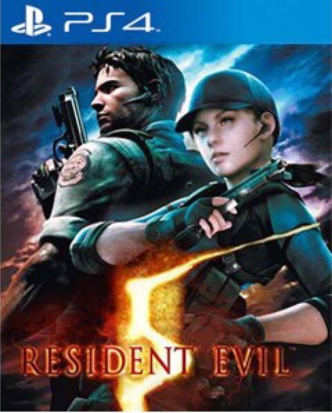 Resident Evil 5 - PS4 cover