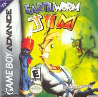 Earthworm Jim - Game Boy Advance cover