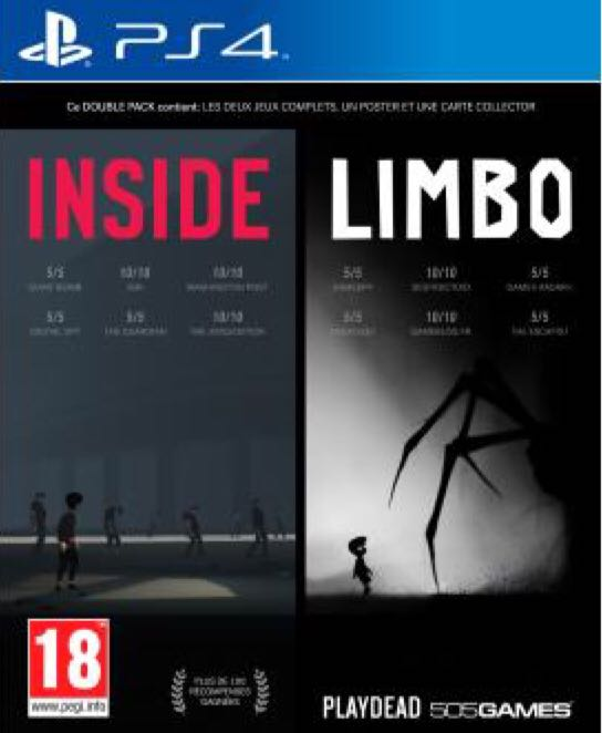 Limbo (Store) - PS4 cover