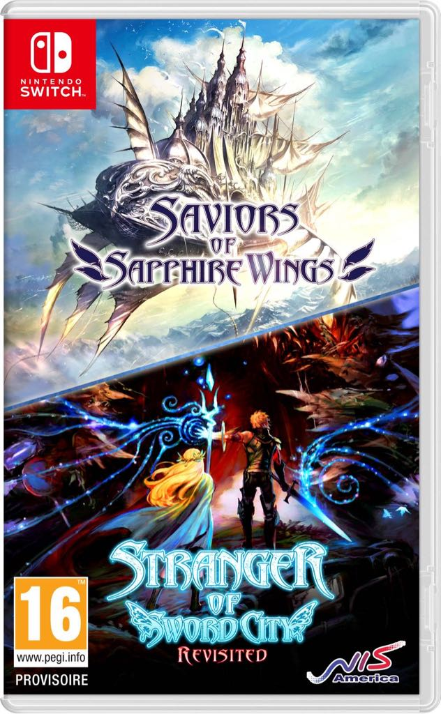 Saviors Of Sapphire Wings & Stranger Of Sword City Revisited - Switch cover