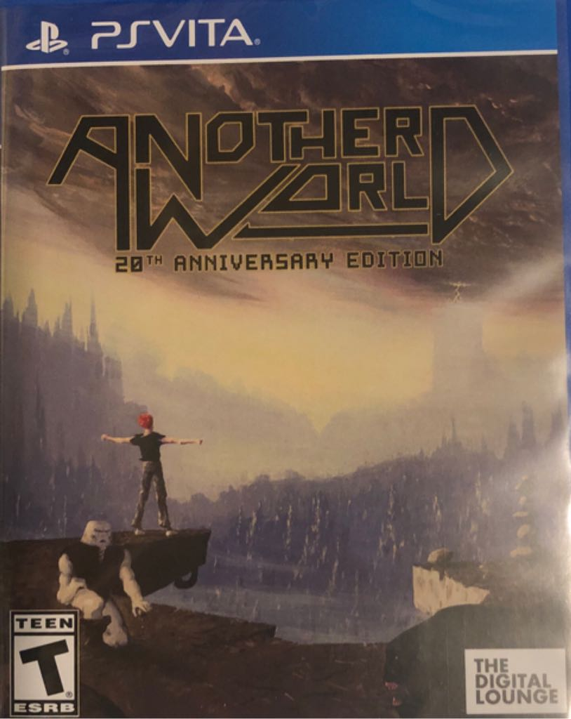 Another World - PS Vita cover