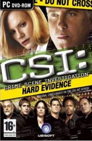 CSI: Hard Evidence - PC cover