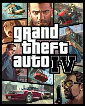 Grand Theft Auto IV - PC cover