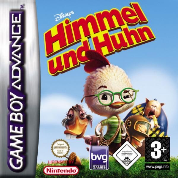 Himmel und Huhn - Game Boy Advance cover