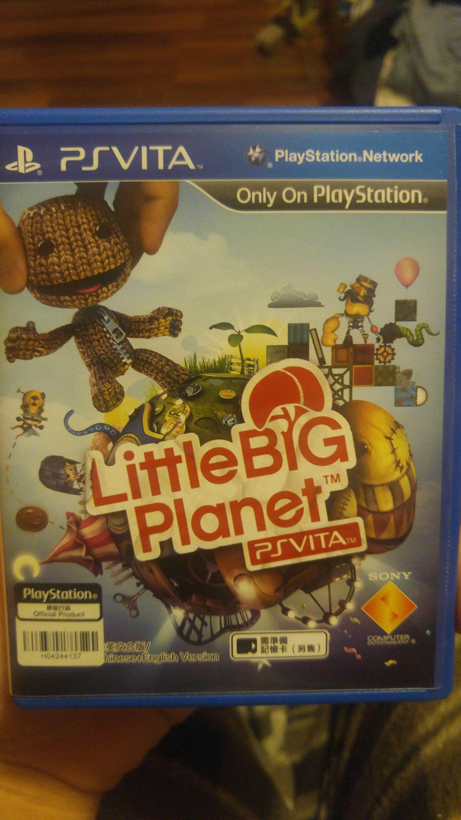 Little Big Planet - PS Vita cover