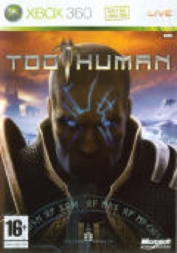Too Human - Xbox 360 cover