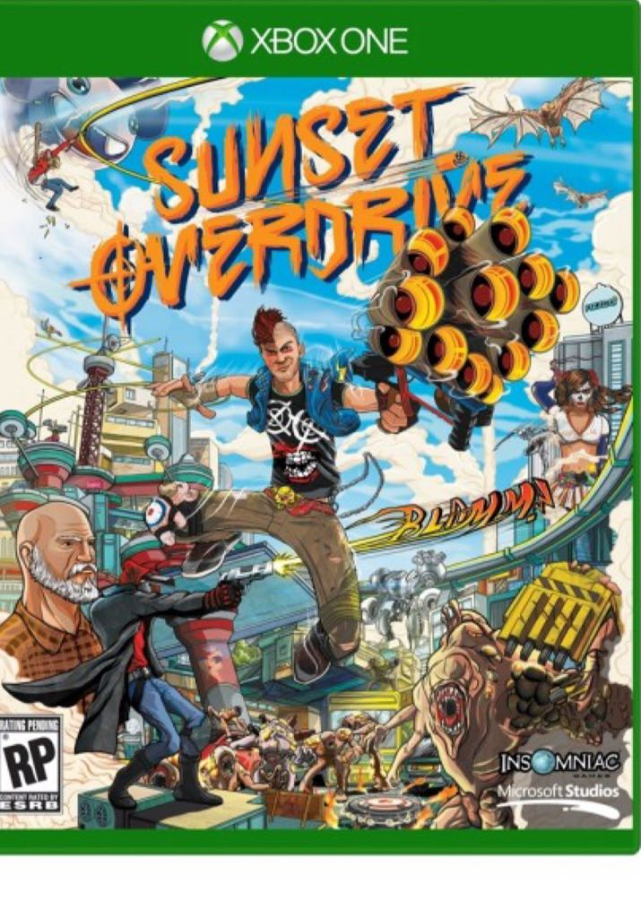 Sunset Overdrive - Xbox One cover