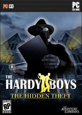 The Hardy Boys The Hidden Theft - PC cover