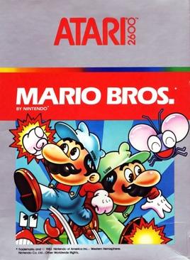 Mario Bros. - Atari 2600 cover