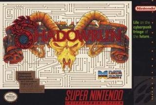 Shadowrun - Super NES cover