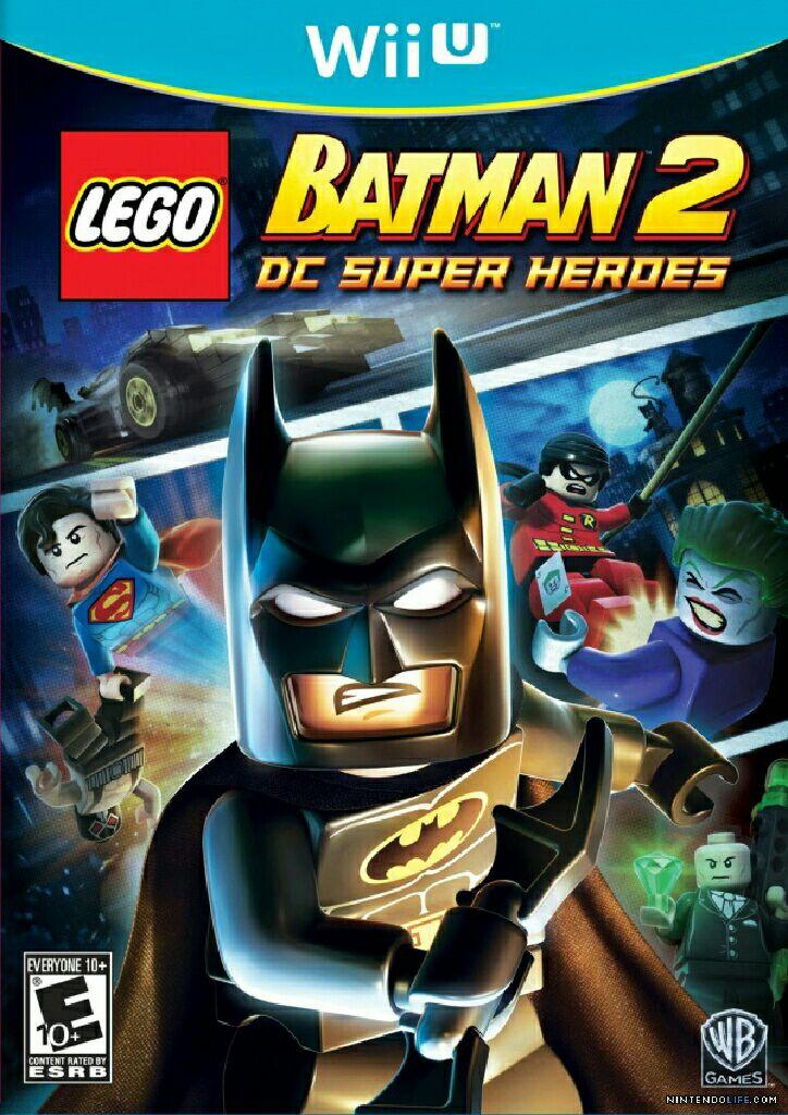 Lego Batman 2: DC Super Heroes - Wii U cover