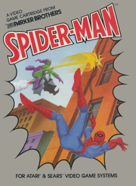 SPIDERMAN  - Atari 2600 cover