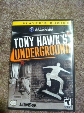 Tony Hawks Underground - Gamecube cover