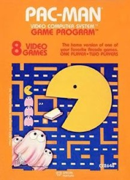 Pac-Man - Atari 2600 cover