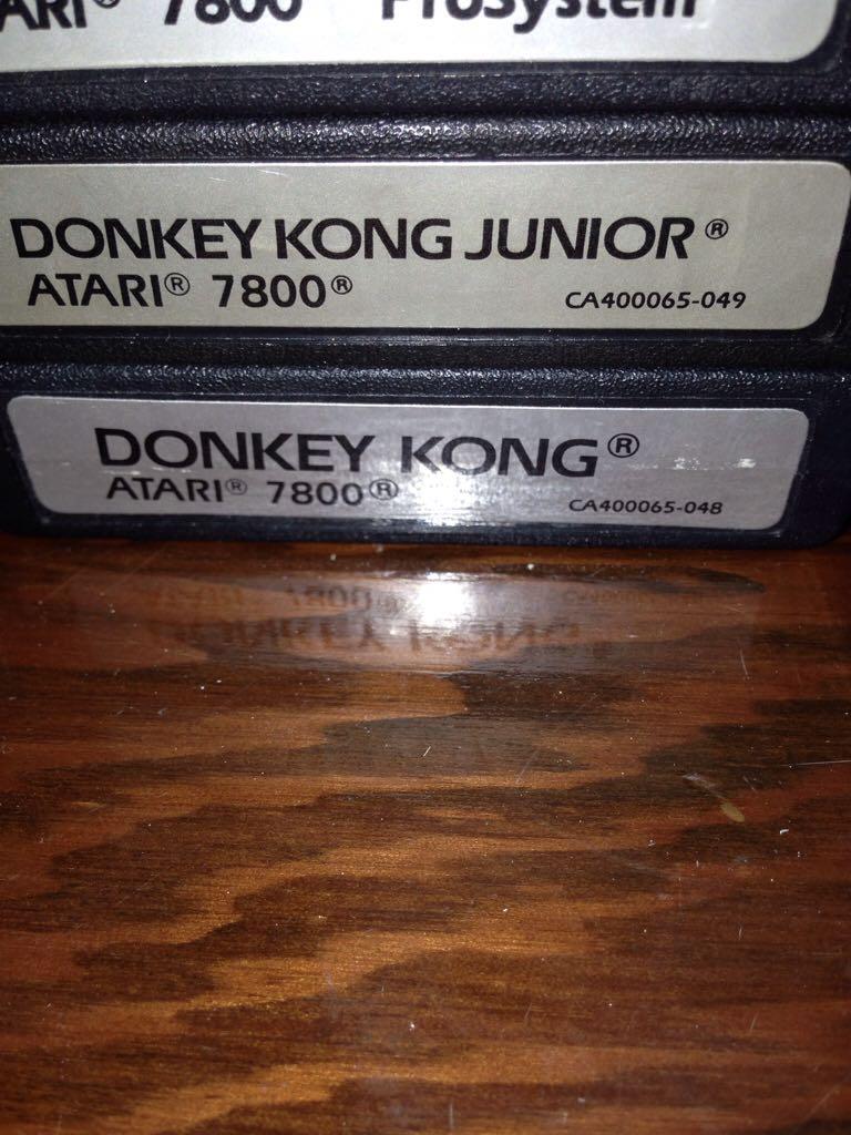 Donkey Kong - Atari 2800 cover