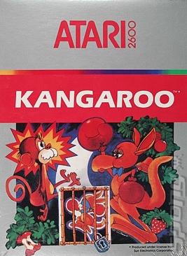 Kangaroo - Atari 2600 cover