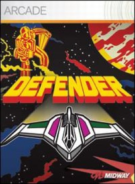 Defender  - Xbox Live Arcade cover