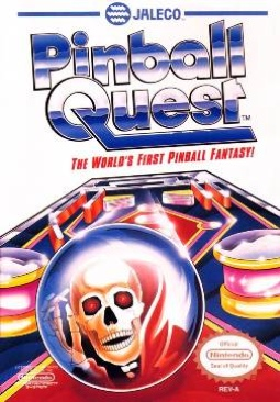 Pinball Quest - NES cover