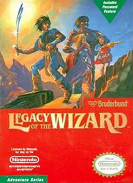 Legacy of the Wizard - NES cover