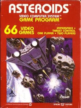 Asteroids - Atari 2600 cover