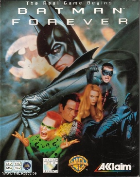 Batman Forever - PC cover