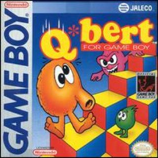 Q-Bert - Game Boy cover
