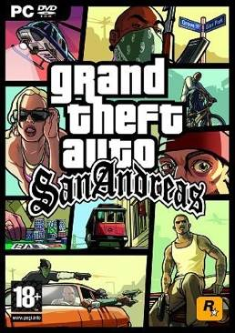 Grand Theft Auto: San Andreas - PC cover