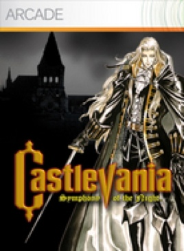 Castlevania: Symphony of the Night - Xbox 360 cover