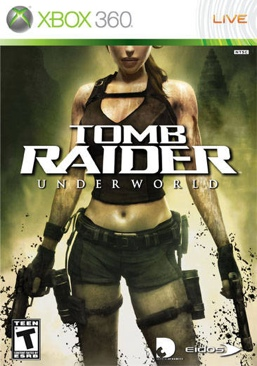 Tomb Raider: Underworld - Xbox 360 cover
