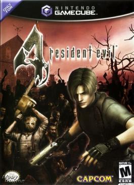 resident evil 4 - Gamecube cover