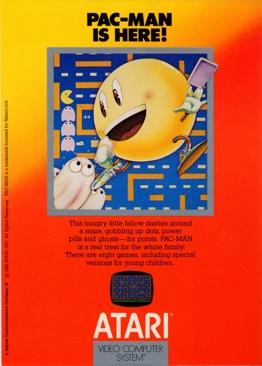 Pac-Man - Atari 2700 cover