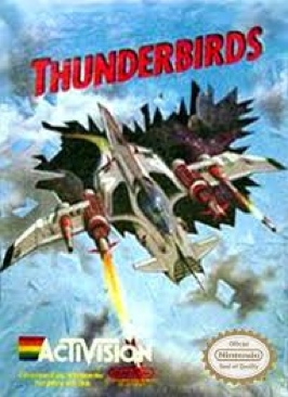 Thunderbirds - NES cover