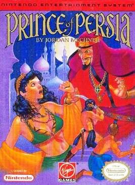 Prince of Persia - NES cover