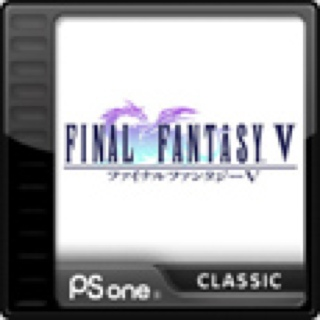 Final Fantasy V - Playstation Network cover