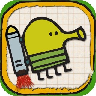 Doodle Jump - Apple iPhone/iPod Touch cover