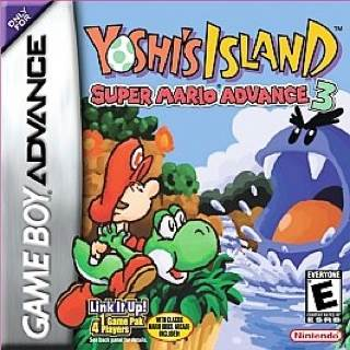 Yoshis Island - Game Boy Advance cover