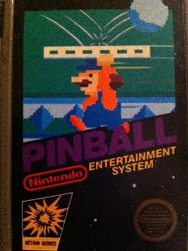 Pinball - NES cover