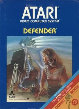 Defender  - Atari 2600 cover