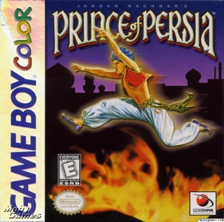 Prince of Persia - Game Boy Color cover
