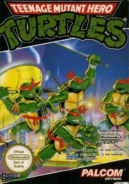 Teenage Mutant Ninja Turtles - Wii Virtual Console cover